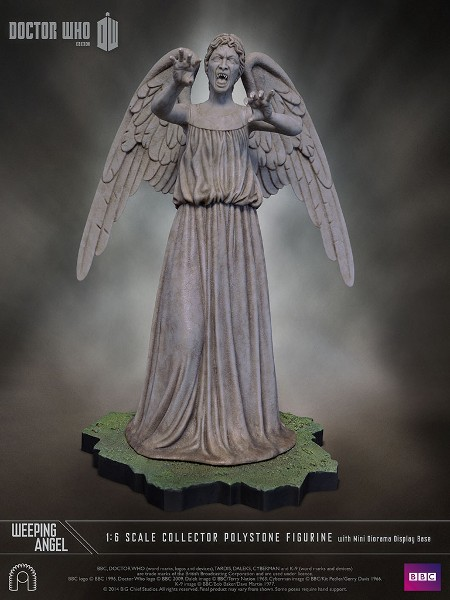 Big Chief Studios Doctor Who Weeping Angel Sixth Scale Statue