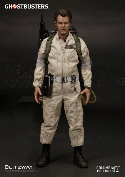 Preorder Blitzway Ghostbusters Raymond Stantz Sixth Scale Figure