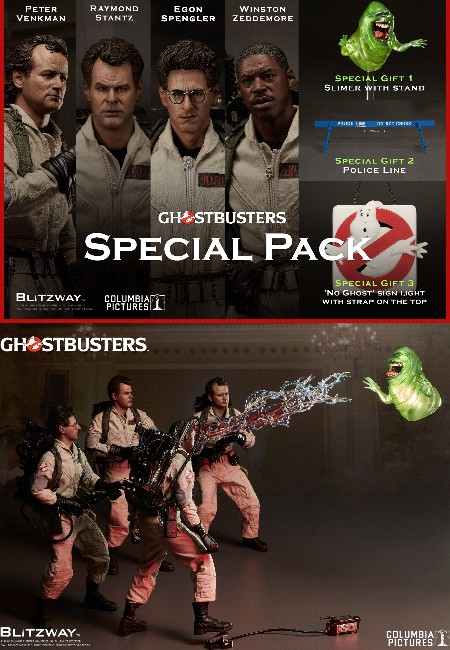 Preorder Blitzway Ghostbusters Sixth Scale Figure Special 4 Pack