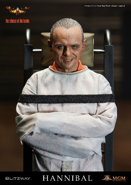 Preorder Blitzway Silence of the Lambs Hannibal Lecter Figure