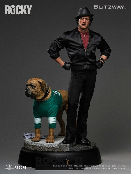 Blitzway Rocky II Rocky and Butkus 20 Inch Mixed Media Statue