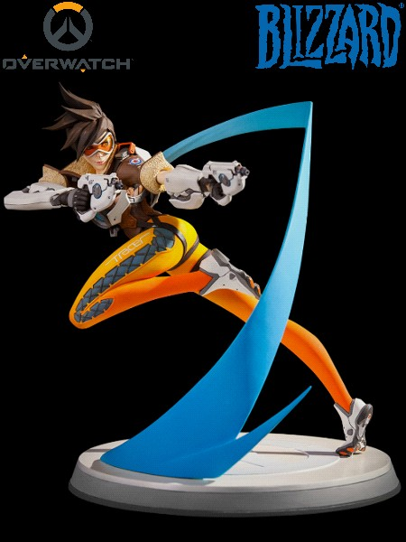 Blizzard Entertainment Overwatch Tracer Statue