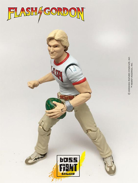 Boss Flight Studios Hero Hacks Flash Gordon Figure and Lunchbox