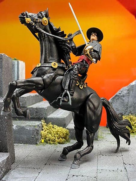 Boss Flight Studios Hero Hacks Zorro and Tornado Figure 2 Pack