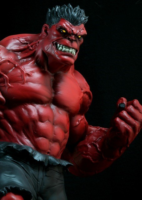 Bowen Designs Marvel Red Hulk Statue