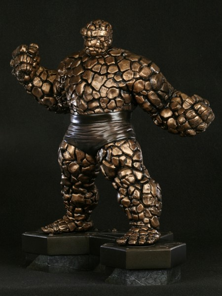 Bowen Designs Marvel The Thing Faux Bronze Statue