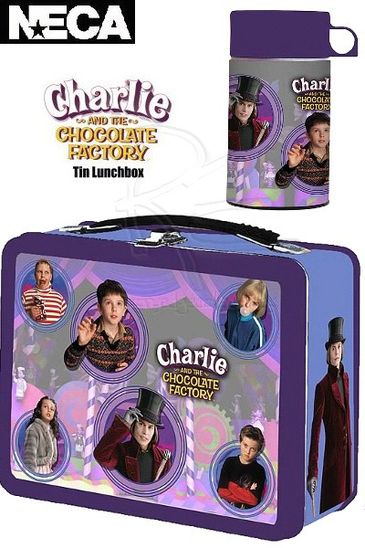 Neca Charlie and the Chocolate Factory Lunch Box and Thermos