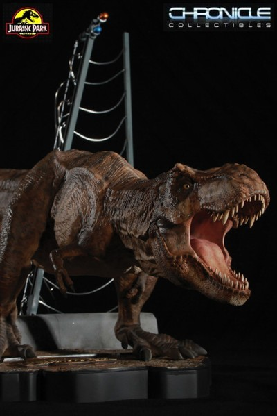 Chronicle Collectibles Jurassic Park Breakout T-Rex Statue