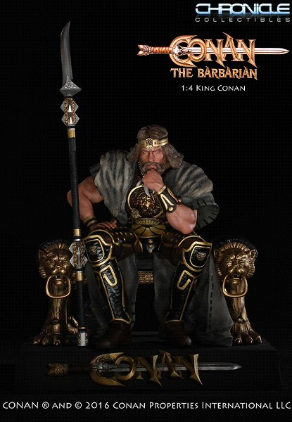 Chronicle Collectibles King Conan on Throne Statue