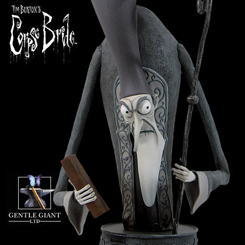Gentle Giant Corpse Bride Pastor Galswells Mini Bust
