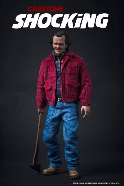 Craftone Shocking The Shining Jack Torrance Sixth Scale Figure