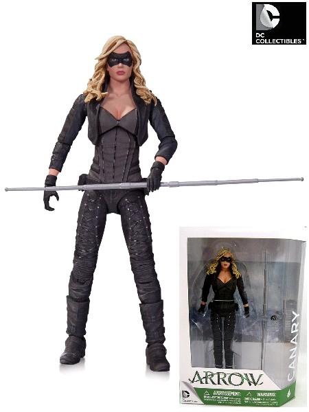 DC Collectibles Arrow TV Series Black Canary Action Figure