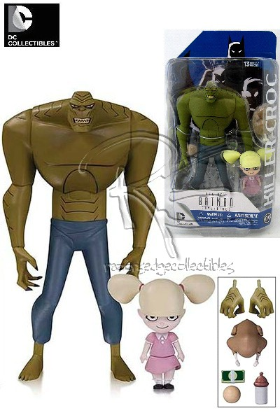 DC Comics Batman Animated Series Killer Croc with Baby Doll Set