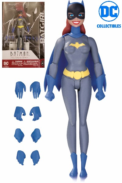 DC Comics Batman Animated Series Batgirl Grey Suit Figure