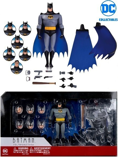 DC Comics Batman Animated Series Batman Expressions Pack