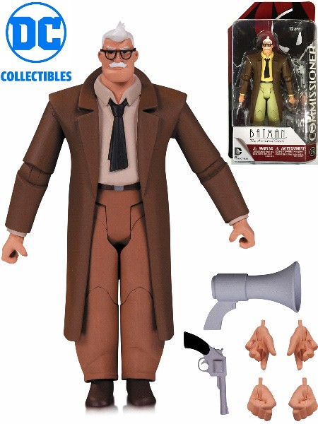 DC Comics Batman Animated Series Commissioner Gordon Figure