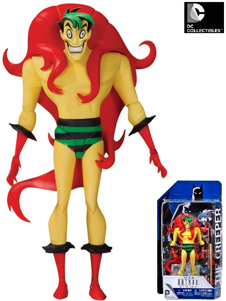 DC Comics Batman Animated Series The Creeper Action Figure