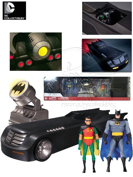 DC Batman The Animated Series 2 Foot Deluxe Batmobile Vehicle