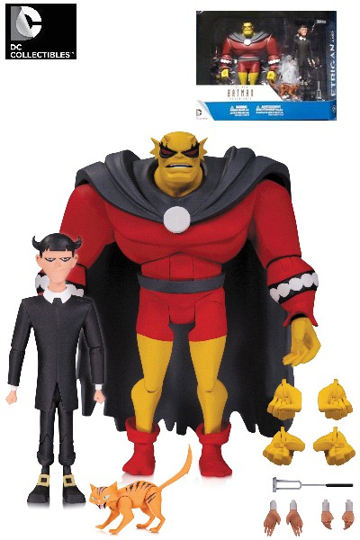 DC Comics Batman Animated Series Etrigan with Klarion Set