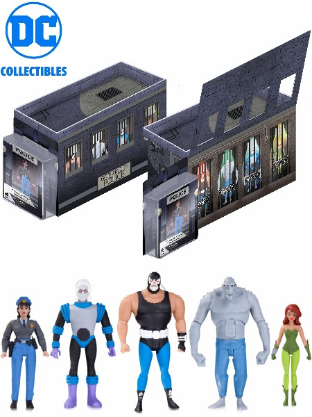 DC Collectibles Batman Animated Gotham City Rogue Gallery 5 Pack