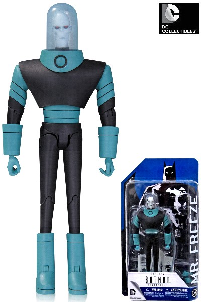 DC Comics Batman Animated Series Mr Freeze Action Figure