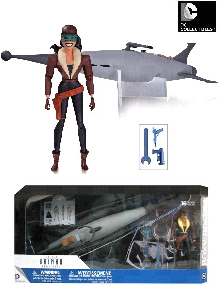 DC Comics Batman Animated Series Roxy Rocket Action Figure