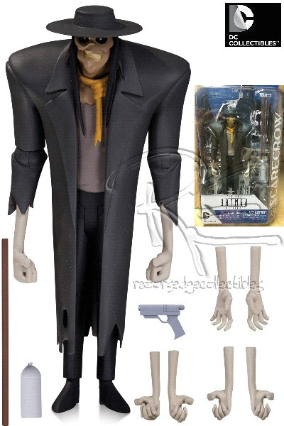 DC Comics Batman Animated Series Scarecrow Action Figure