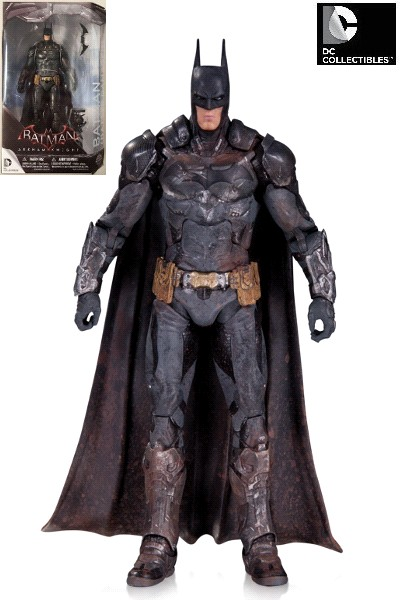 DC Comics Batman Arkham Knight Battle Damaged Batman