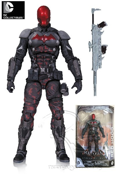 DC Comics Batman Arkham Knight Red Hood Action Figure