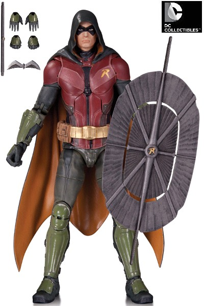 DC Comics Batman Arkham Knight Robin Action Figure