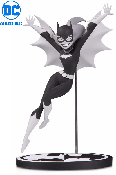 DC Collectibles Batman Black & White Batgirl Bruce Timm Statue