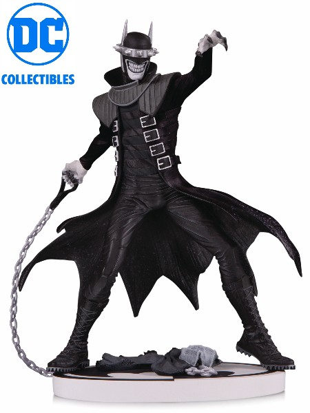 DC Collectibles Batman Black and White Who Laughs V2 Statue