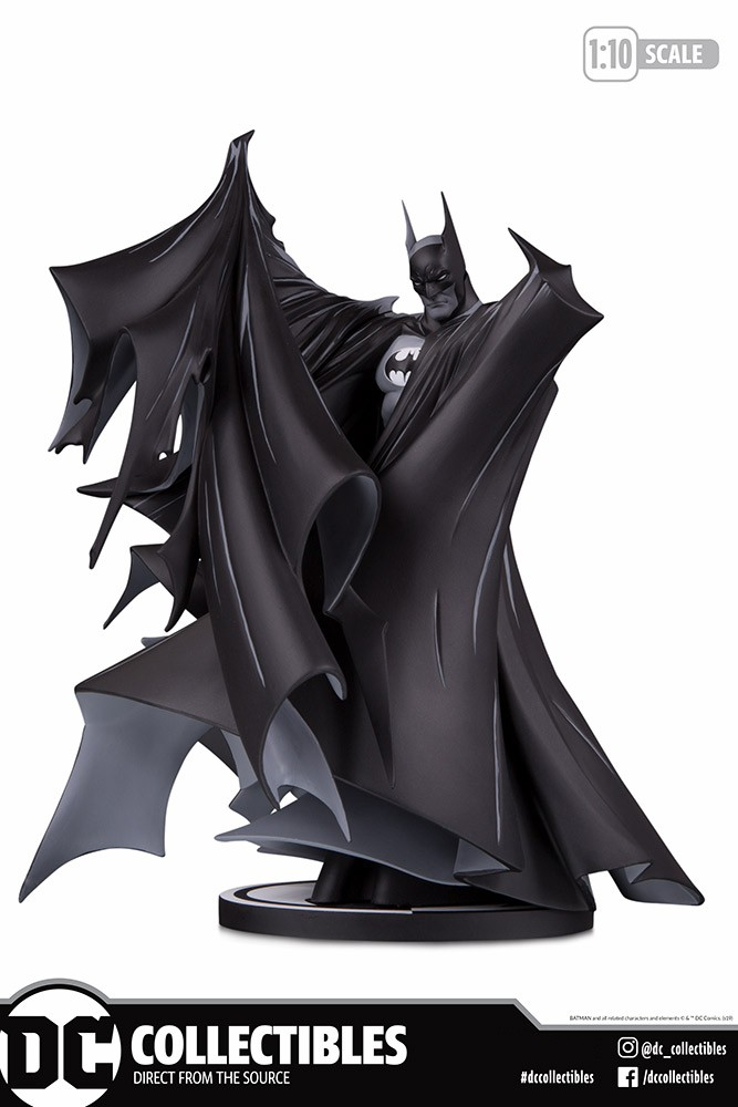 DC Collectibles Batman Black and White by Todd McFarlane Statue