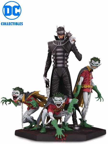DC Collectibles Dark Knights Metal Batman Who Laughs & Robin
