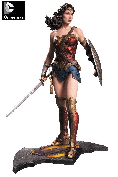 DC Batman vs Superman Dawn of Justice Wonder Woman Statue