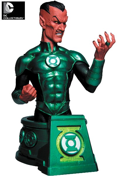 DC Collectibles Blackest Night Sinestro as Green Lantern Bust