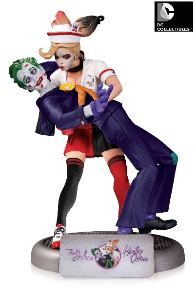 DC Collectibles DC Comics Bombshells Joker and Harley V2 Statue