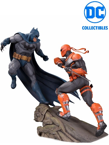 DC Collectibles Batman vs Deathstroke Battle Statue