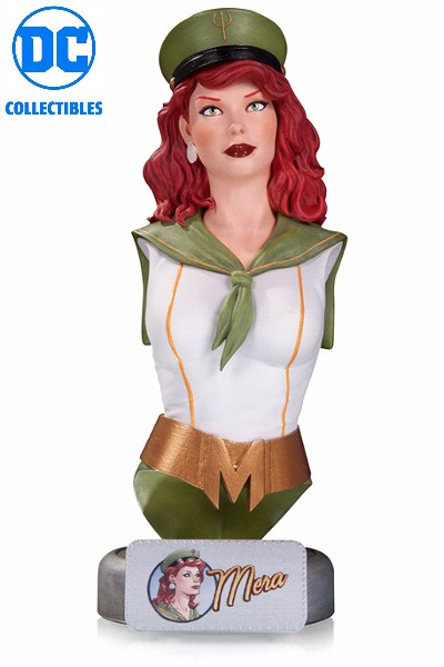 DC Collectibles DC Comics Bombshells Mera Bust