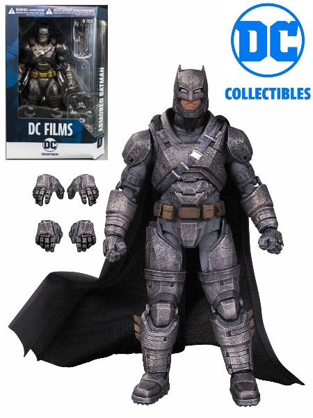 DC Collectibles DC Films Dawn of Justice Armored Batman Figure