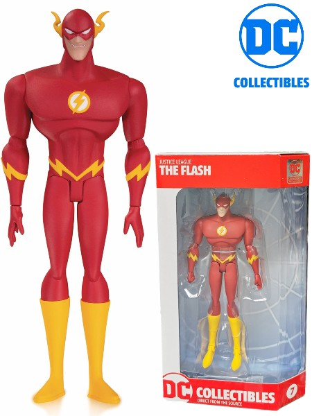 DC Collectibles Justice League Animated TV Series Flash Figure