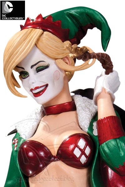 DC Collectibles DC Comics Bombshells Holiday Harley Quinn Statue