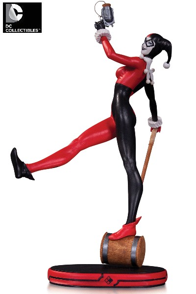 DC Collectibles DC Comics Cover Girls Harley Quinn Statue