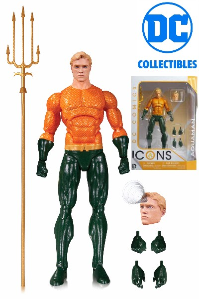 DC Collectibles DC Comics Icons Aquaman Action Figure