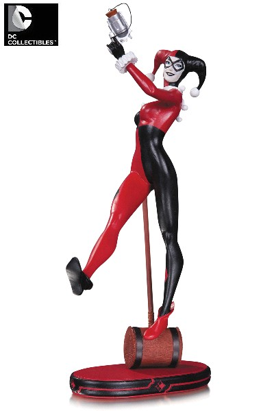 DC Collectibles DC Comics Cover Girls Harley Quinn V2 Statue