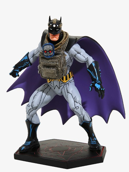 DC Collectibles Dark Knights Metal Batman & Baby Darkseid Statue