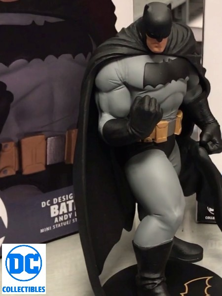 DC Comics Batman Dark Knight Master Race Mini Batman Statue