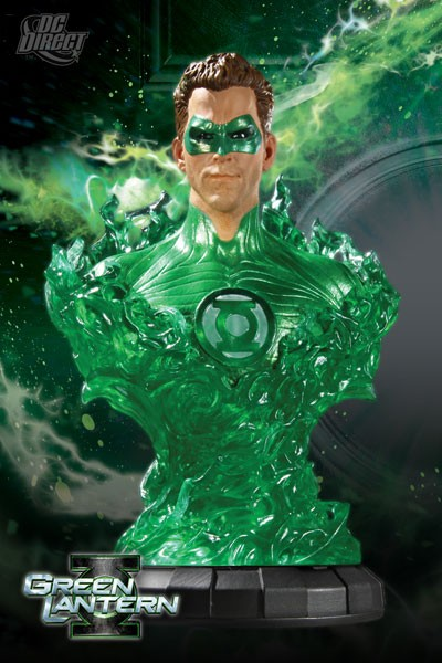 DC Direct Green Lantern Movie Hal Jordan Quarter Scale Bust