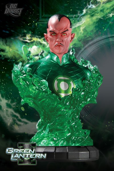 DC Direct Green Lantern Movie Sinestro Quarter Scale Bust