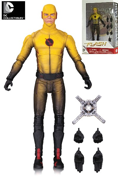 DC Collectibles The Flash TV Series Reverse Flash Action Figure